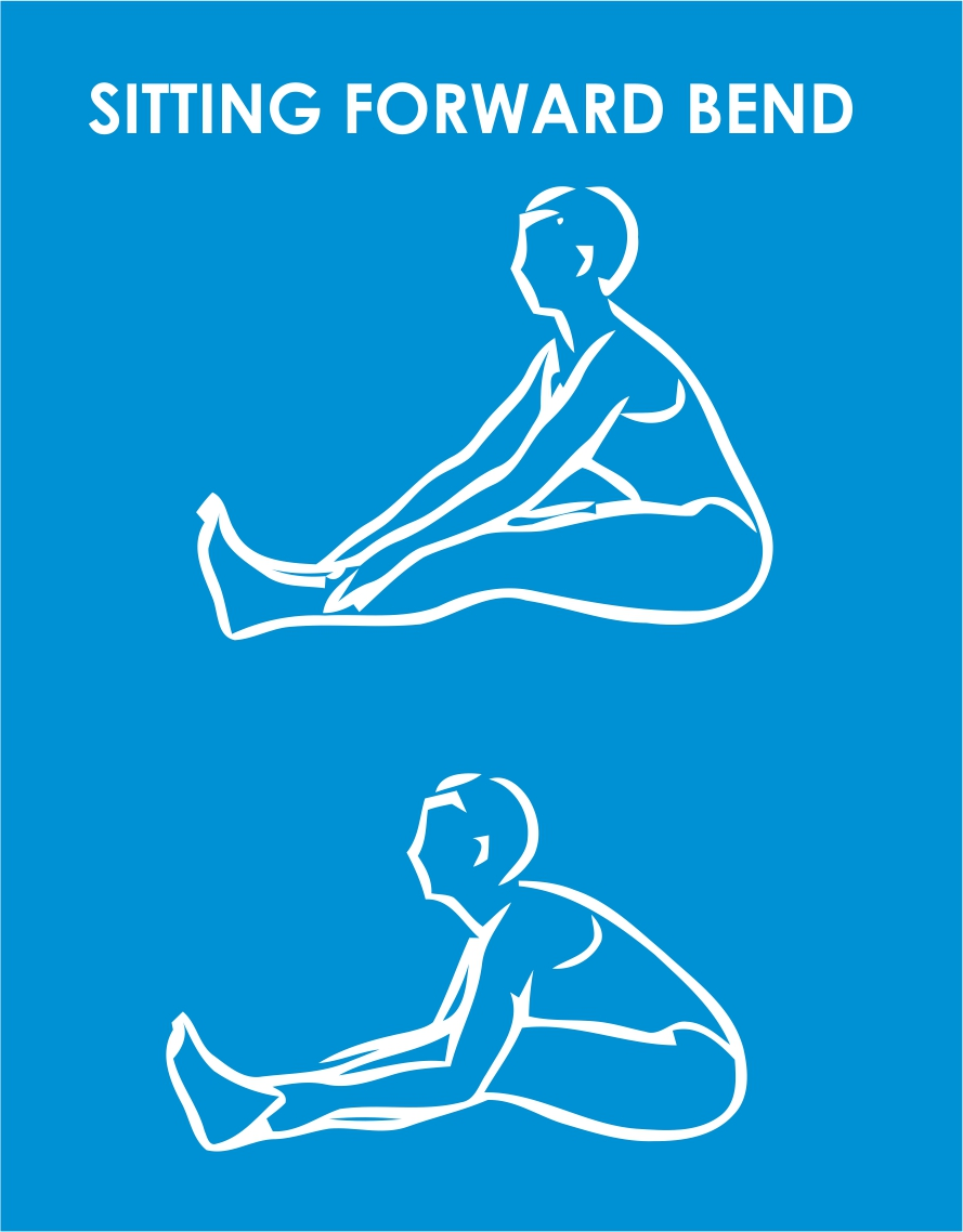 sitting forward bend