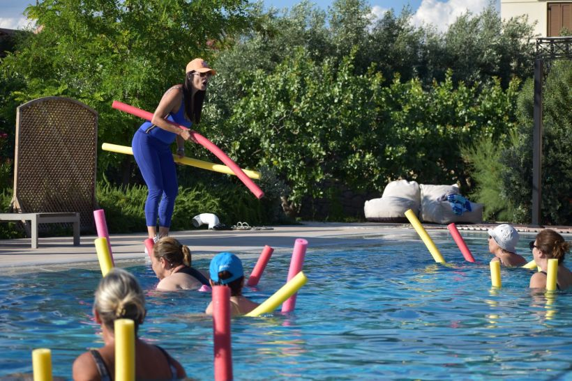 Aqua Aerobics στην Αίγινα