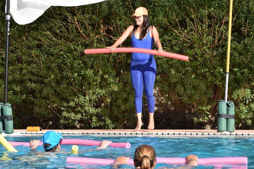 Aqua aerobics Aegina