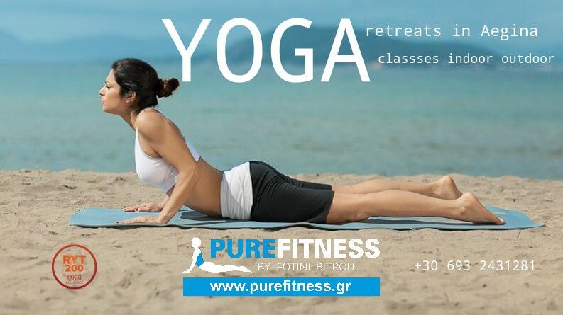 Yoga in Aegina