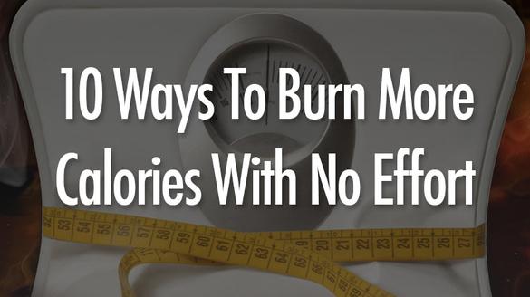 10 tips για να Χάσετε θερμίδες