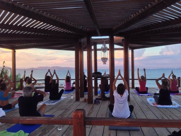 yoga irides Aegina Greece