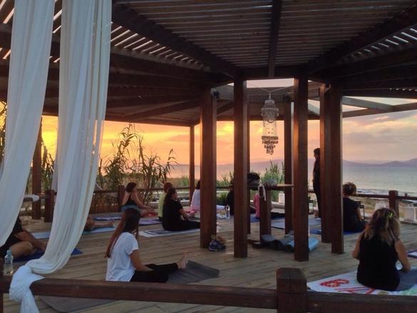 yoga irides aegina