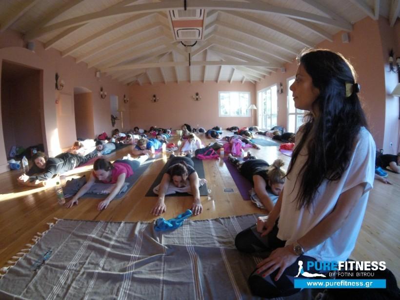 Yoga & Spa retreat στο Thermae Resort & Spa Platystomo με τη Φωτεινή Μπήτρου