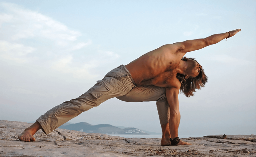 yoga men Greece