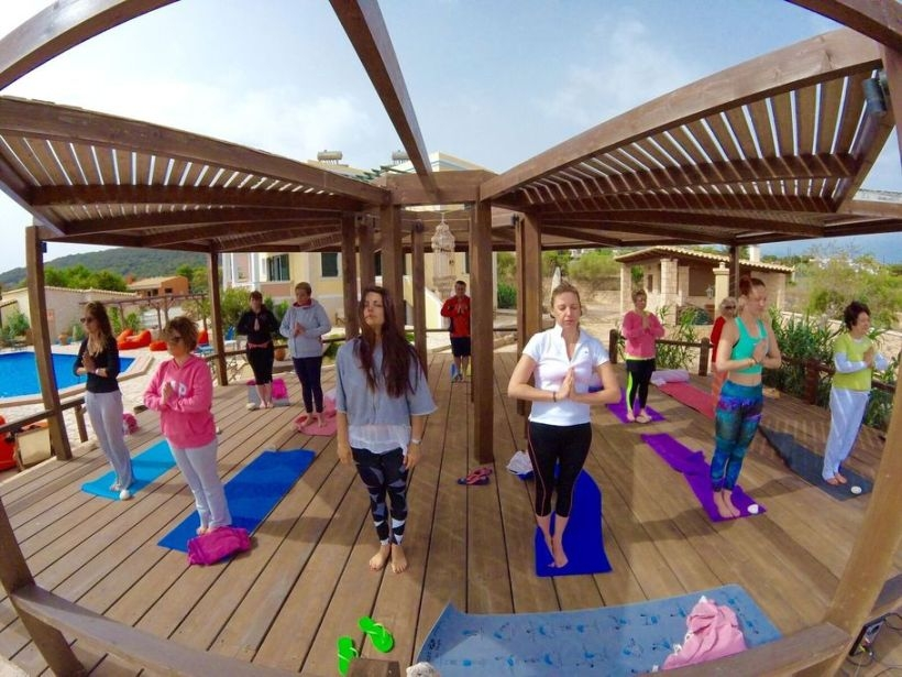 What I experienced at the 3 day Yoga Retreat at Aegina Greece on 20-22 May 2016