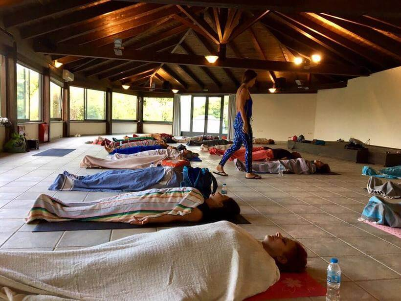 yoga Sivota Greece