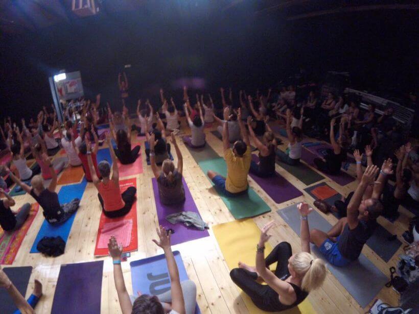 yoga festival Greece