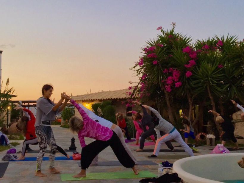 Yoga Retreat στην Αίγινα το Σεπτέμβριο του 2016