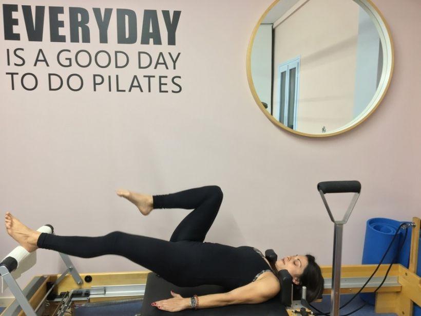 Reformer Pilates at Kouros Gym in Aegina Greece
