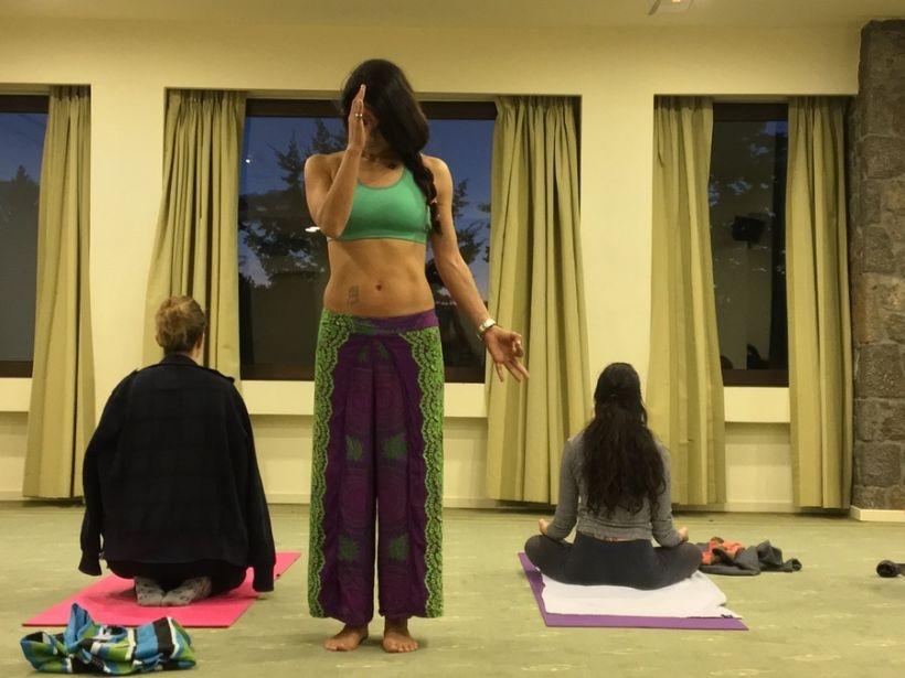 Winter Yoga retreat in Arachova Greece