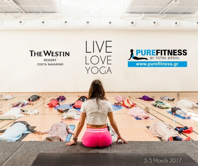 The Biggest Yoga Retreat of 2017 in Greece by Fotini Bitrou in The Westin Resort Costa Navarinο