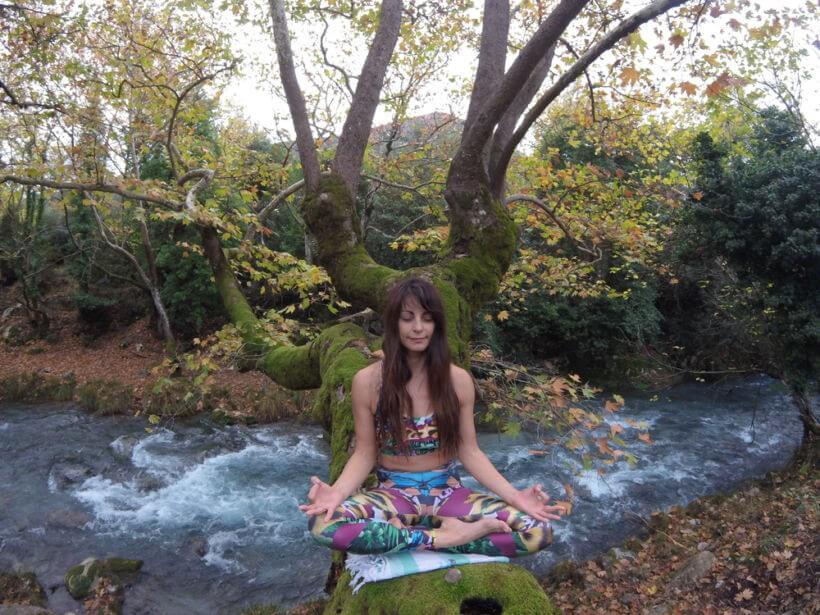 yoga retreat Abelionas