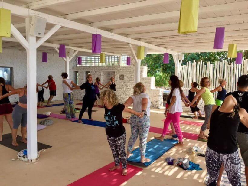 Yoga retreat Antiparos