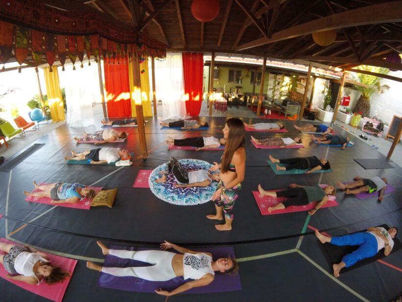 Yoga reteat Ikaria