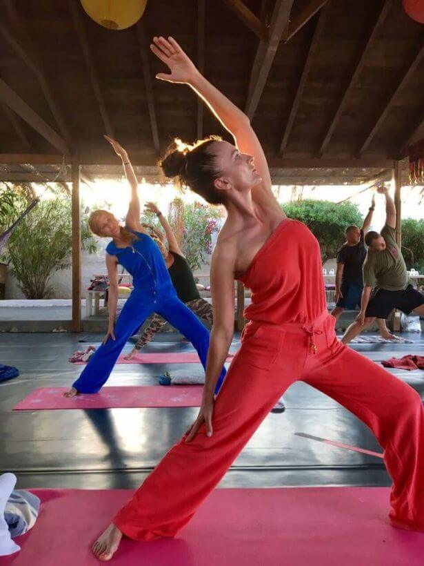 Yoga retreat Ikaria