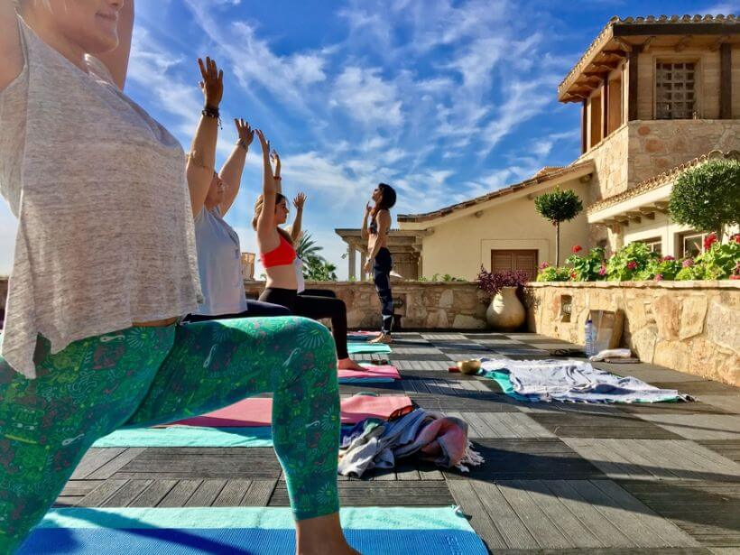 yoga retreat Cyprus