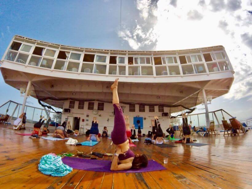 Yoga Cruise Greece
