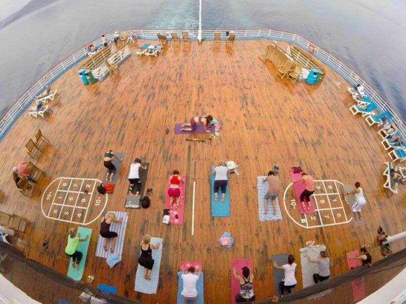 Yoga Cruise Greece