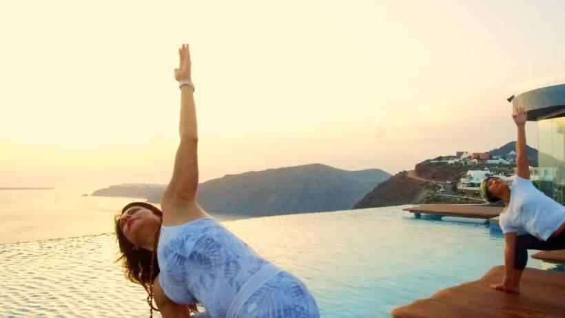 Yoga Santorini