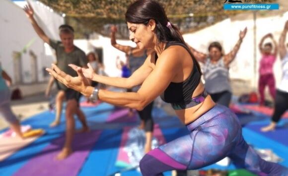 Yoga με θέα το Aπέραντο Γαλάζιο στη Πεταλούδα του Αιγαίου, Αστυπάλαια 2018