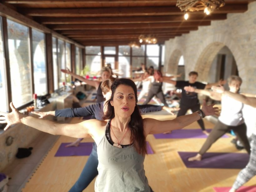 An Unforgetable Yoga Retreat in Mani 1-3 Feb 2019, at Petra & Light Boutique Hotel with Fotini