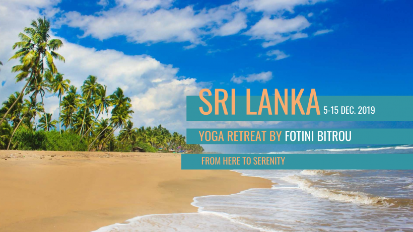 10 Day Yoga & Mindfulness Retreat on Sacred Buddha Island, Sri Lanka 5-15 Dec. 2019
