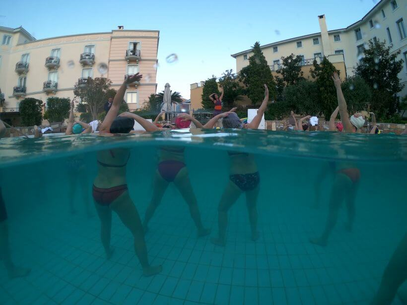 Yoga retreat Thermae Sylla Spa Edipsos