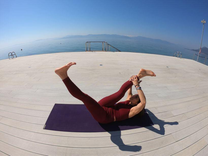 Yoga retreat Thermae Sylla Spa Edipsos