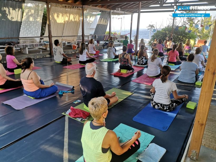 the EGG Ikaria yoga