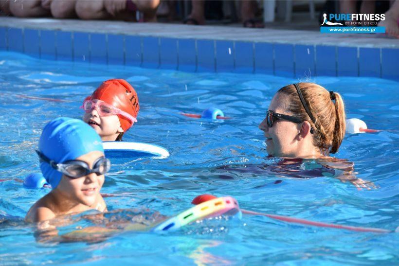 24οι Κολυμβητικοί Αγώνες Επίδειξης στην Αίγινα