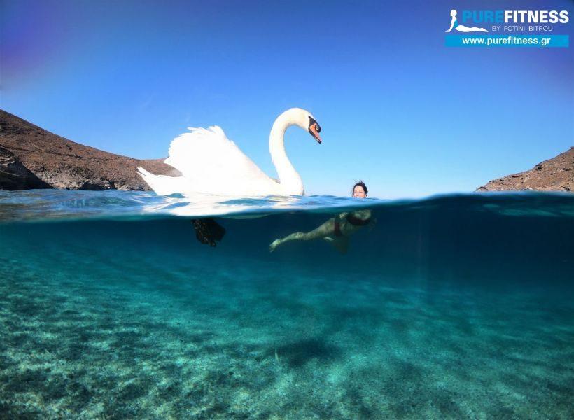 Yoga Retreat Απόδραση στον Παράδεισο του ONAR, παραλία Άχλα Άνδρος