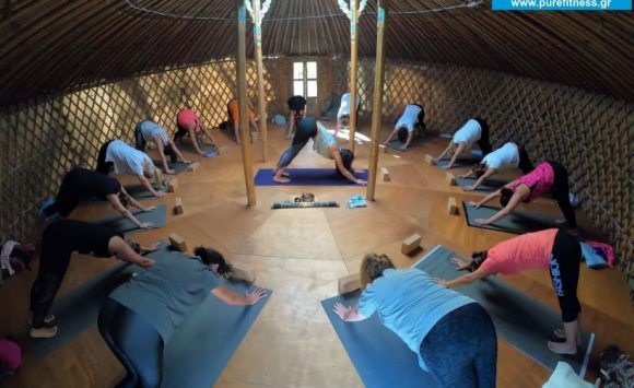 Yoga Retreat to ONAR's Paradise, Achla beach, Andros