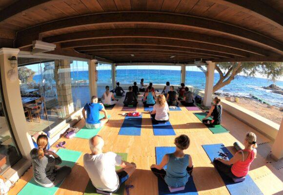 Aegina Yoga retreat
