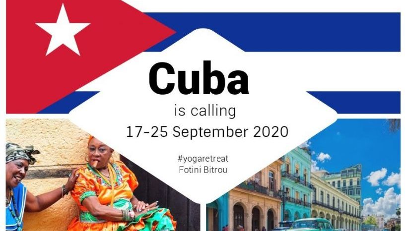 Yoga Retreat in the exotic Cuba, 17-25 September 2020