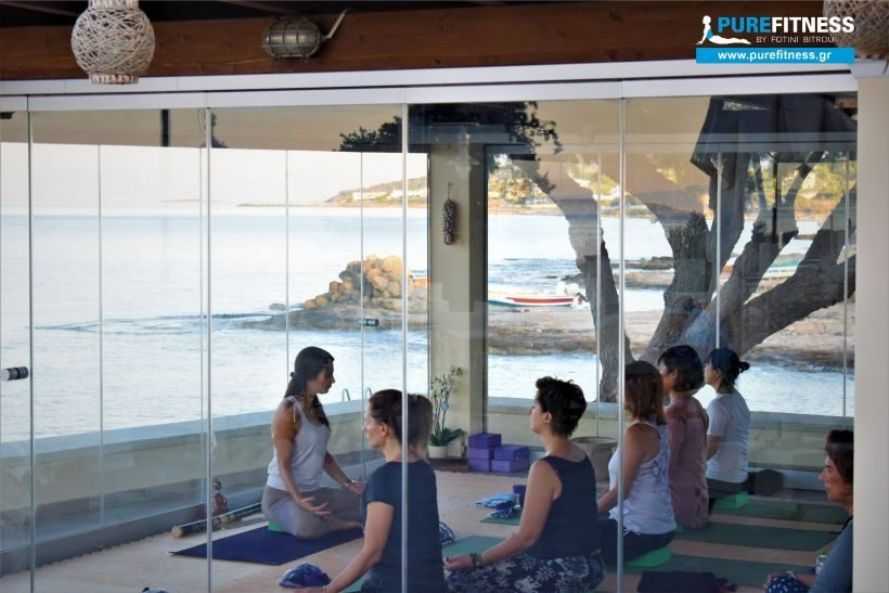 Yoga Retreat next to the Sea in Aegina, with Fotini Bitrou