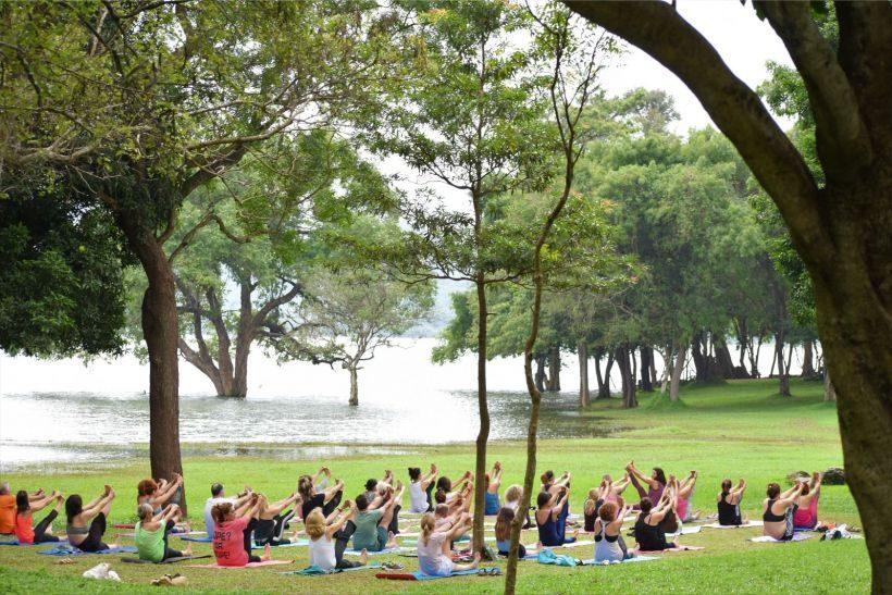 Εντυπωσιακές Εικόνες απο το Yoga Retreat της Φωτεινής Μπήτρου στην Σρι Λάνκα, Δεκ. 2019