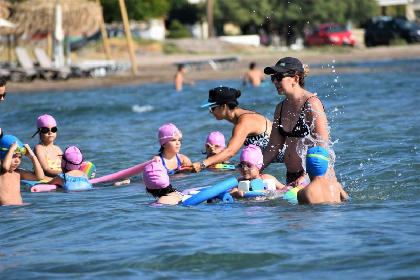 Swim lessons Aegina
