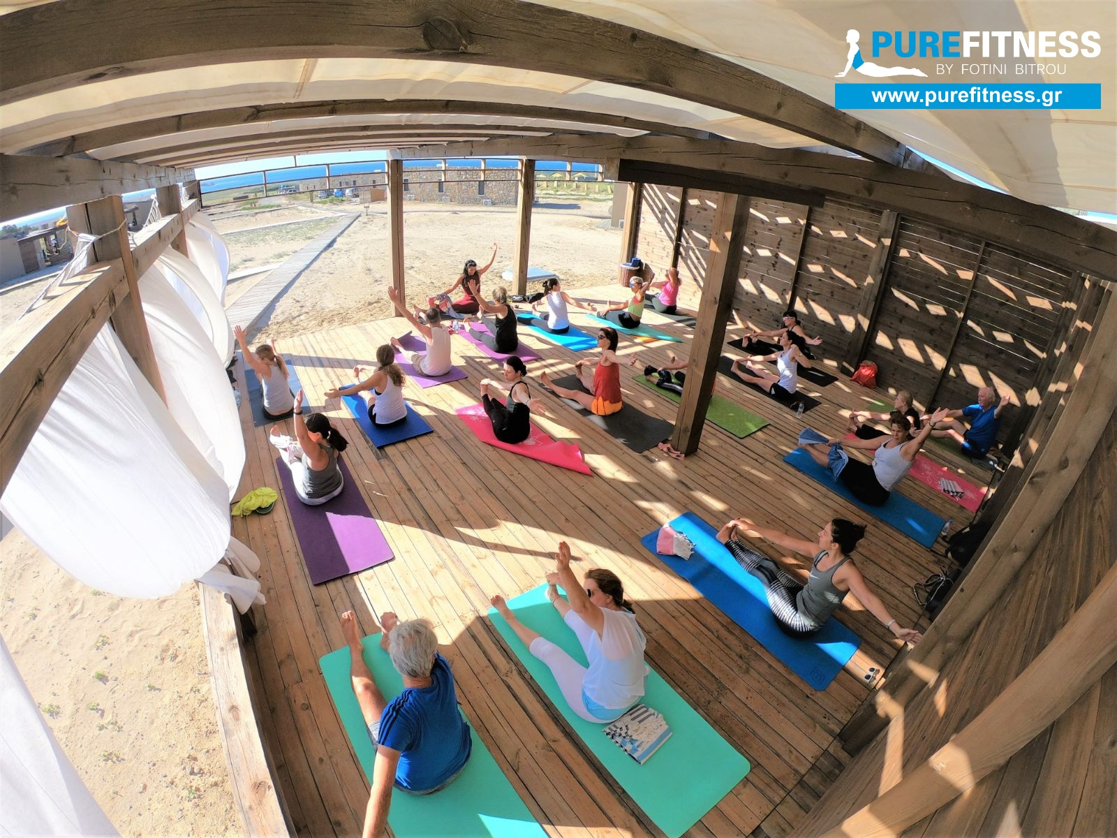 yoga retreat Limnos