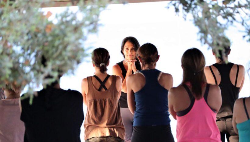 A Yoga Retreat full of Sounds in Aegina island Greece