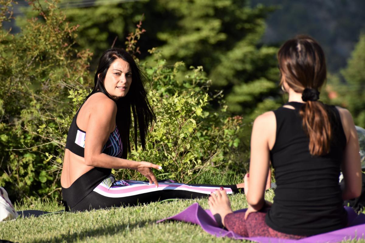 Yoga retreat Tzoumerka