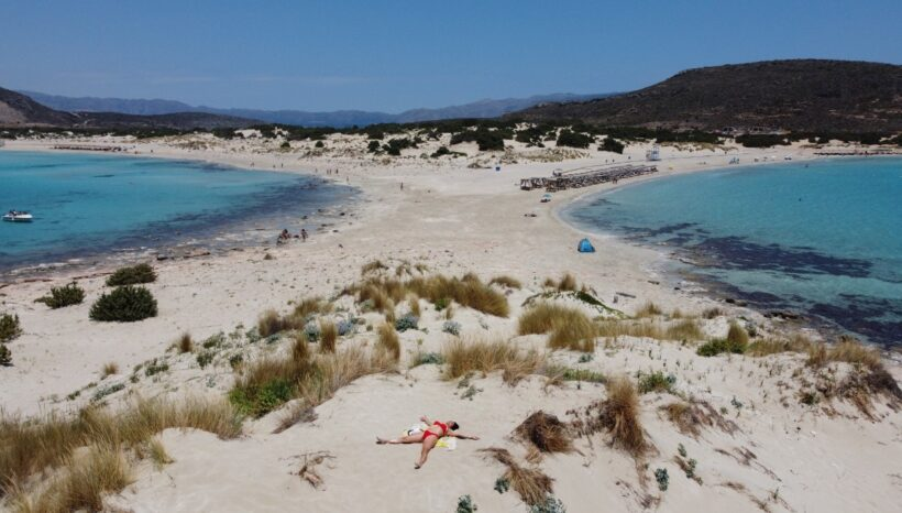 Yoga Retreat in Elafonisos, the Magical Silence at Sunset Hour