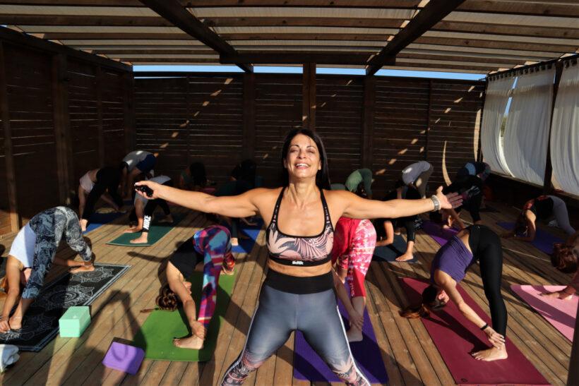 Yoga Retreat στην Λήμνο 2021 με την Φωτεινή Μπήτρου