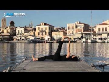 Spider Yoga Pose by Fotini Bitrou - Pure Fitness