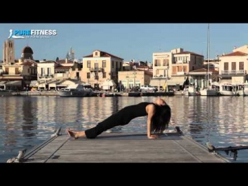 Inclined Plane Yoga Pose by Fotini Bitrou - Pure Fitness
