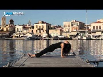 Inclined Plane Yoga Pose by Fotini Bitrou - Pure Fitness