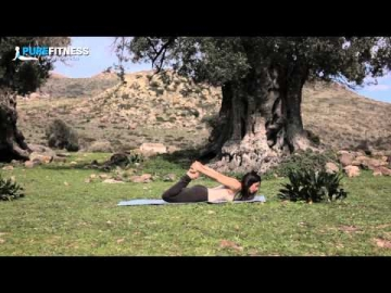 Bow Yoga Pose by Fotini Bitrou - Pure Fitness