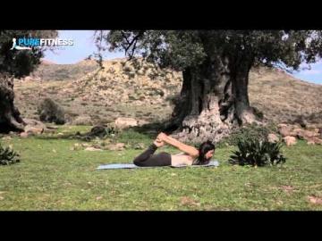 Bow Yoga Pose by Fotini Bitrou - Pure Fitness