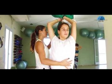 Aerial Yoga στην Αίγινα Kouros Gym