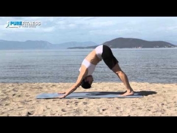 Downward Dog Yoga Pose by Fotini Bitrou - Pure Fitness
